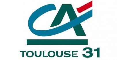 Logo du crédit agricole Toulouse 31